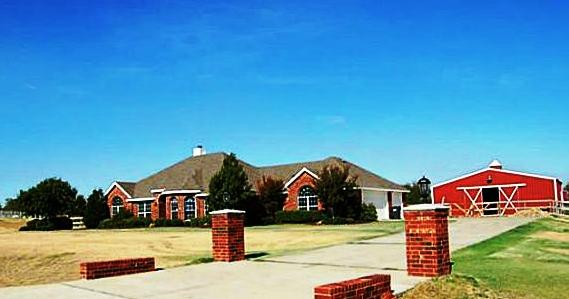 Lucas Texas Equestrian Property - Sold By Jeanie in 2012